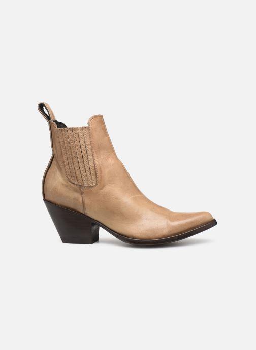 Stiefeletten & Boots Mexicana Estudio beige ansicht von hinten