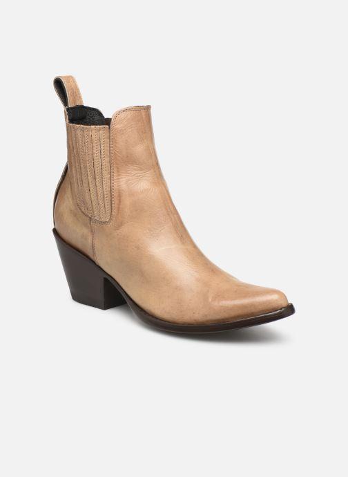 Stiefeletten & Boots Mexicana Estudio beige detaillierte ansicht/modell