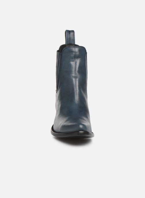 Bottines et boots Mexicana Estudio Bleu vue portées chaussures