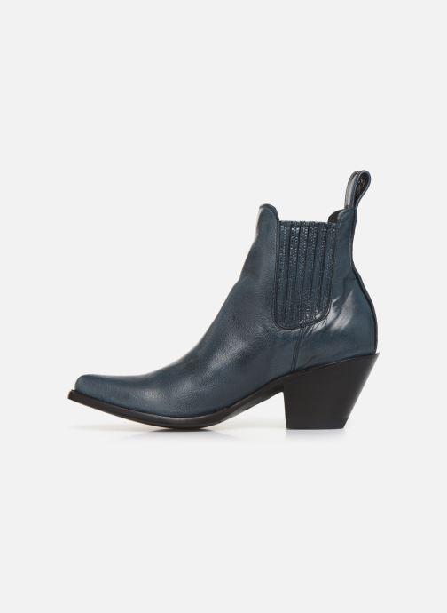Boots en enkellaarsjes Mexicana Estudio Blauw voorkant