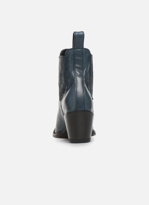 Boots en enkellaarsjes Mexicana Estudio Blauw rechts