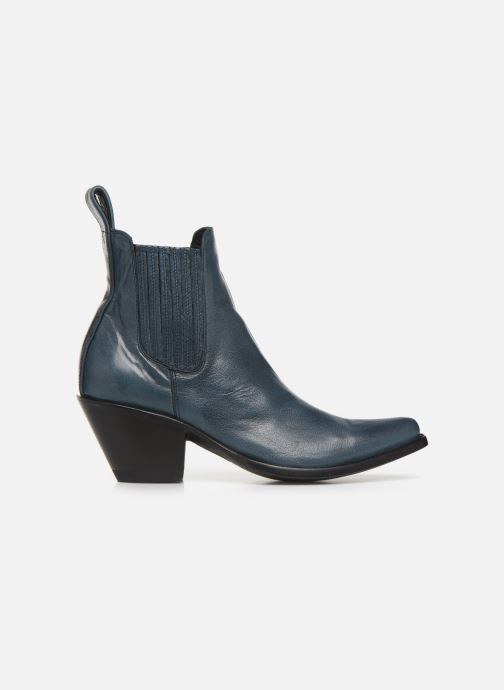 Boots en enkellaarsjes Mexicana Estudio Blauw achterkant