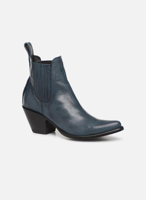 Boots en enkellaarsjes Mexicana Estudio Blauw detail