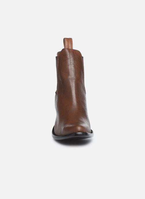 Boots en enkellaarsjes Mexicana Estudio Bruin model