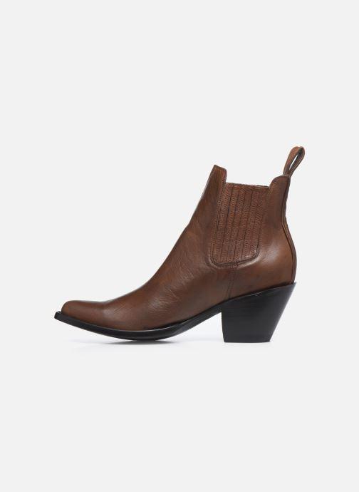 Boots en enkellaarsjes Mexicana Estudio Bruin voorkant