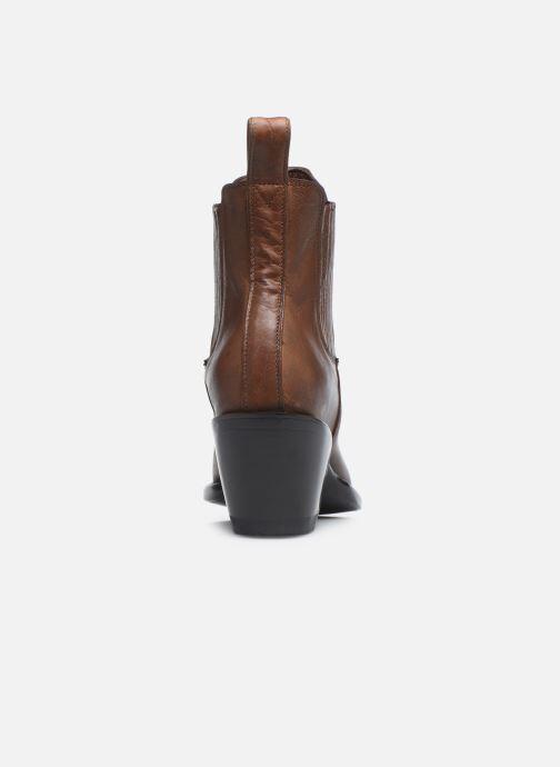 Boots en enkellaarsjes Mexicana Estudio Bruin rechts
