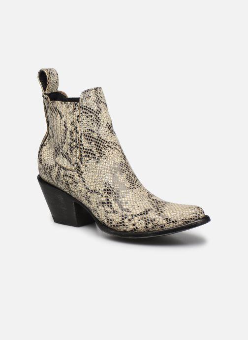 Boots en enkellaarsjes Mexicana Estudio Beige detail
