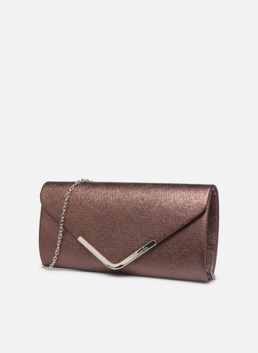 Handtaschen Tamaris Brianna Clutch Bag weinrot schuhe getragen