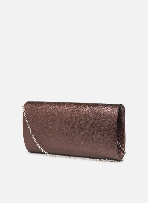 Handtaschen Tamaris Brianna Clutch Bag weinrot ansicht von rechts