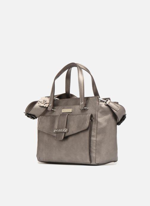 Borse Tamaris Danila Handbag Grigio modello indossato