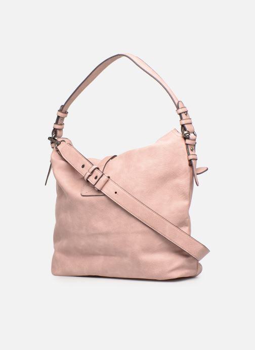 Handtaschen Tamaris Bernadette Hobo Bag rosa ansicht von rechts