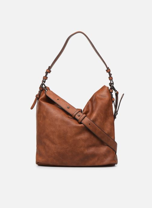 Handbags Tamaris Bernadette Hobo Bag Brown front view