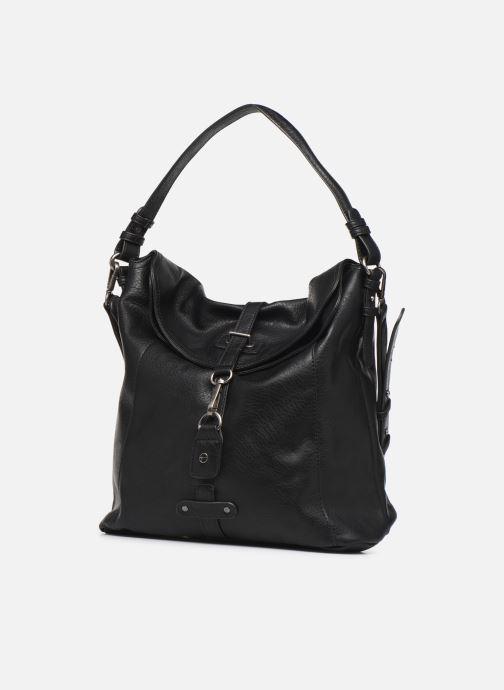 Sacs à main Tamaris Bernadette Hobo Bag Noir vue portées chaussures
