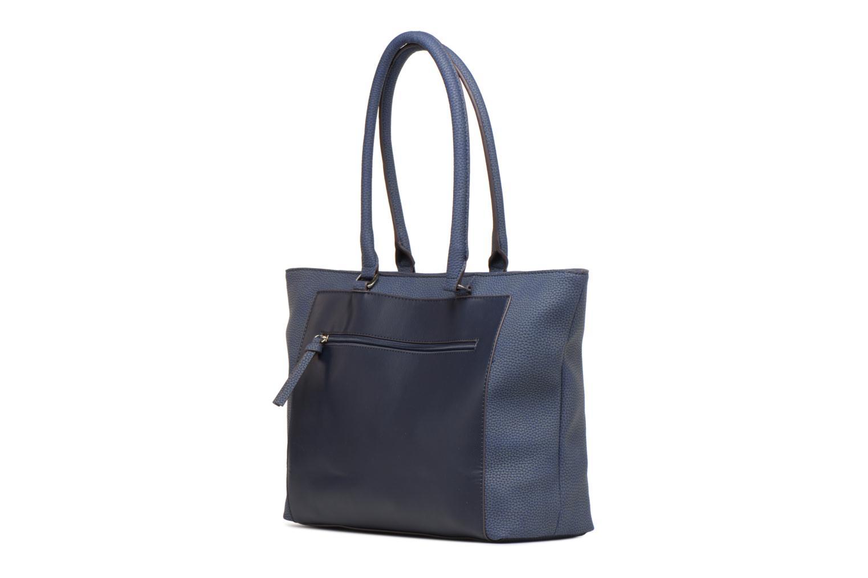 Handtassen Tamaris Elsa shopping bag Blauw rechts