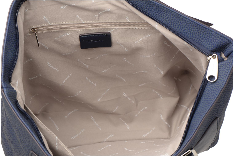 Handtassen Tamaris Elsa shopping bag Blauw achterkant