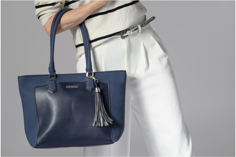 Handtassen Tamaris Elsa shopping bag Blauw boven