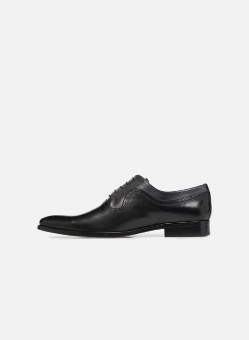 Zapatos con cordones Brett & Sons Will Negro vista de frente