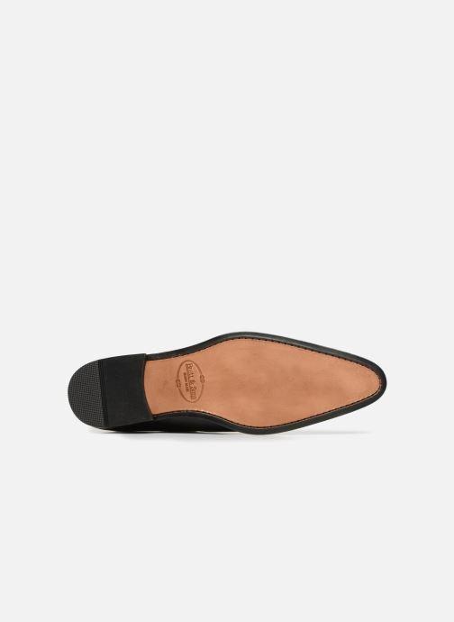Zapatos con cordones Brett & Sons Will Negro vista de arriba