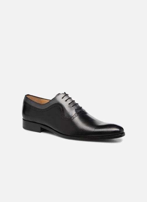 Chaussures à lacets Brett & Sons Will Noir vue détail/paire