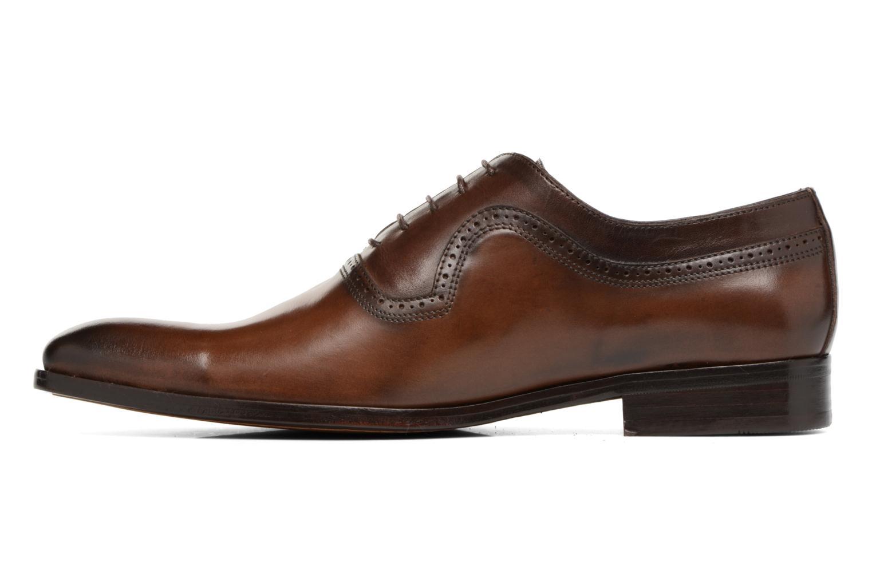 Chaussures à lacets Brett & Sons Will Marron vue face
