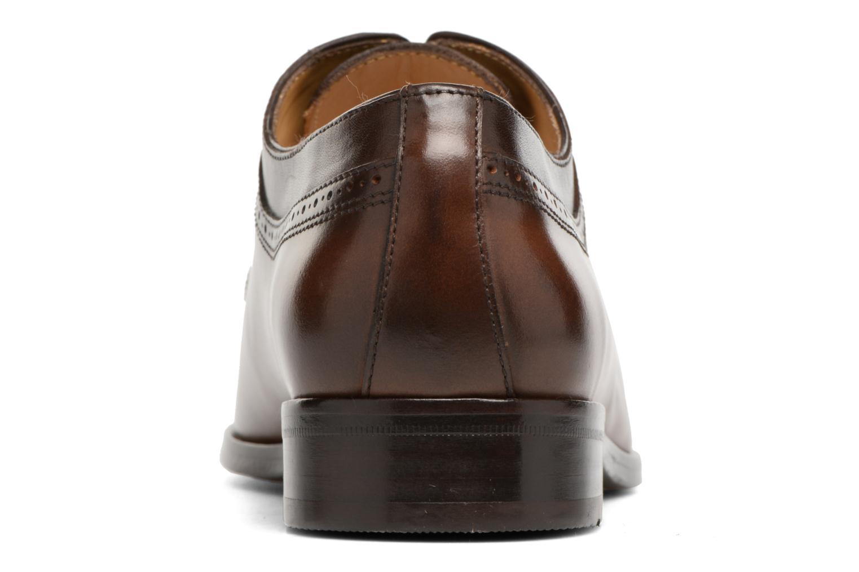 Chaussures à lacets Brett & Sons Will Marron vue droite