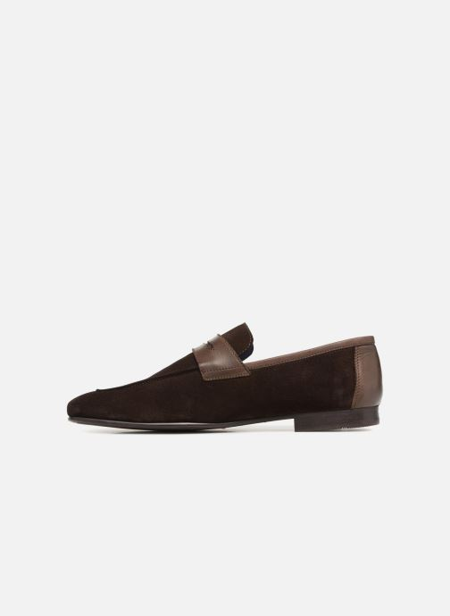 Mocassins Brett & Sons Theo Marron vue face