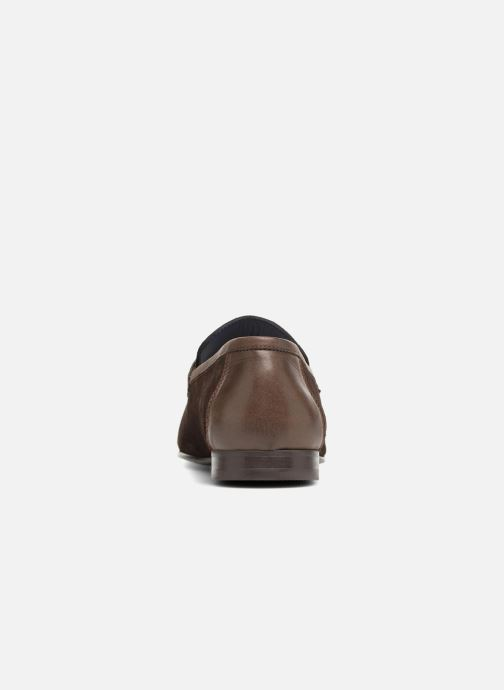 Loafers Brett & Sons Theo Brown view from the right