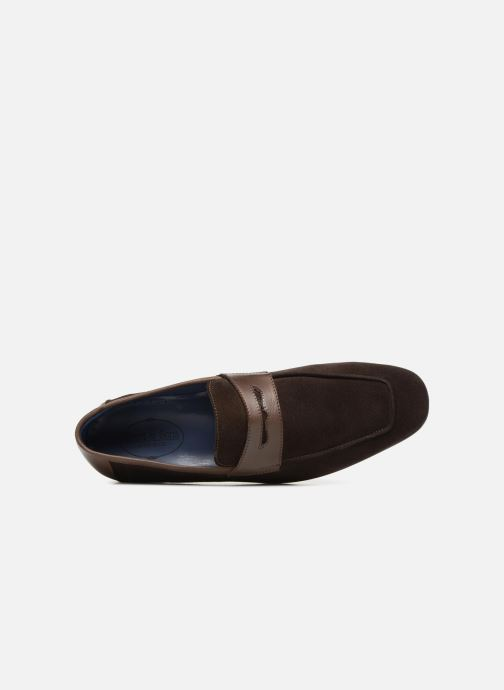 Loafers Brett & Sons Theo Brown view from the left