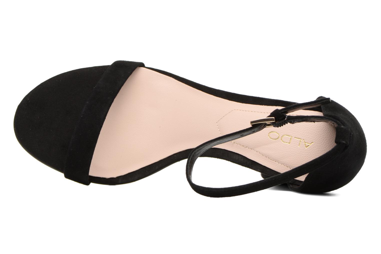 Sandales et nu-pieds Aldo MYLY Noir vue gauche