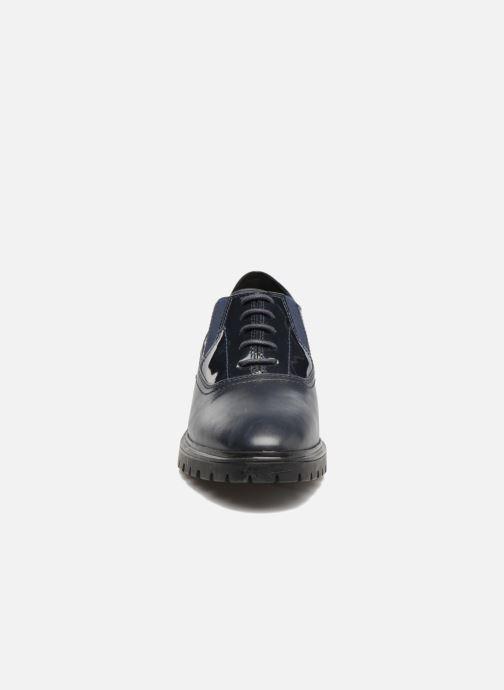 Geox D Peaceful D640GH (Blue) - Lace-up shoes chez Sarenza (317963) 192db9a1162