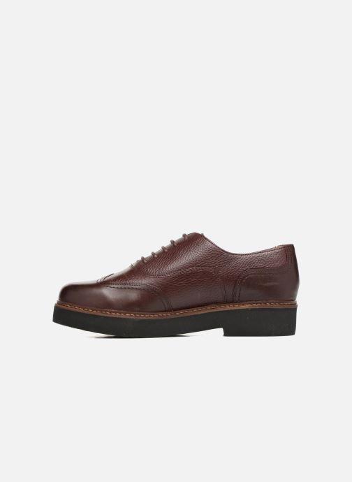 Chaussures à lacets Geox D Rayssa ABX D643HD Bordeaux vue face