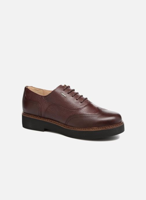 Chaussures à lacets Geox D Rayssa ABX D643HD Bordeaux vue détail/paire
