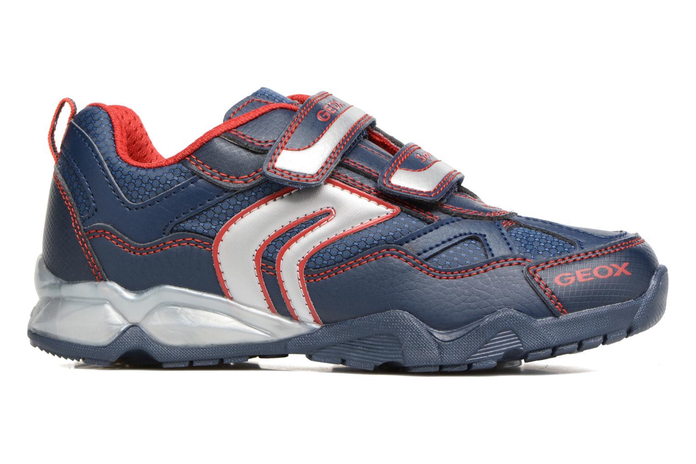 Sneakers Geox J Light Eclipse 2 BO J64BC Azzurro immagine posteriore