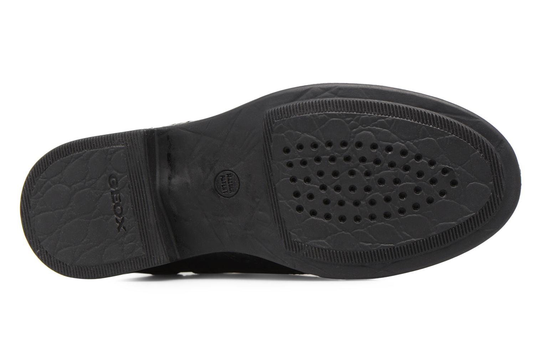 Boots en enkellaarsjes Geox JR Agata A J6449A Zwart boven