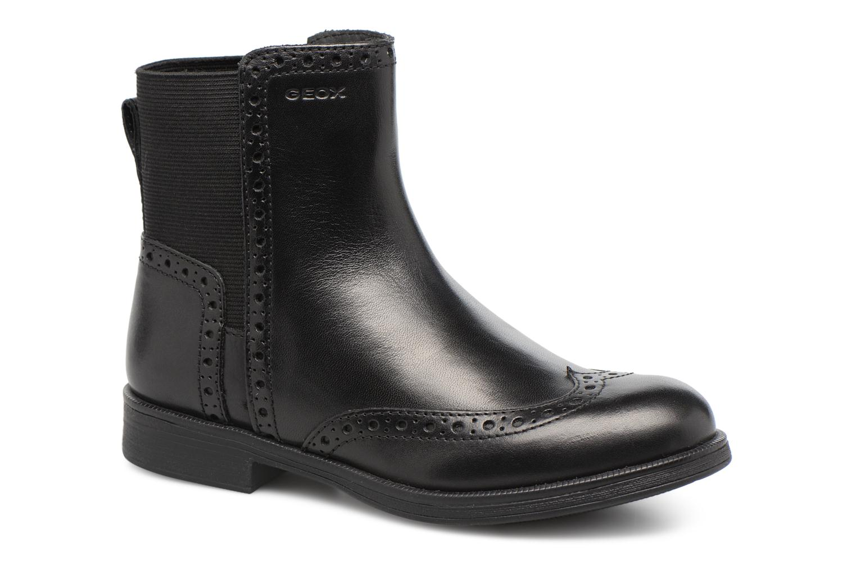 Boots en enkellaarsjes Geox JR Agata A J6449A Zwart detail