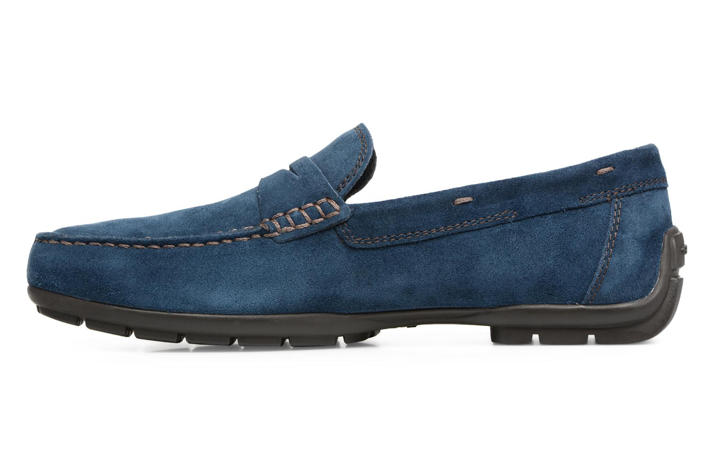 Loafers Geox U Moner W 2FIT C U44T1C Blue front view