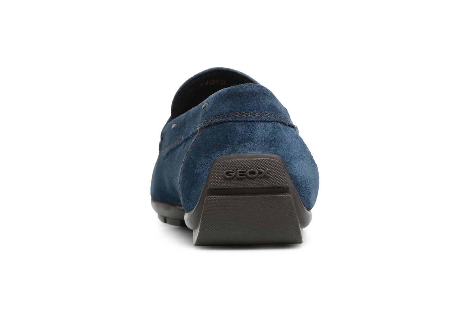 Loafers Geox U Moner W 2FIT C U44T1C Blue view from the right