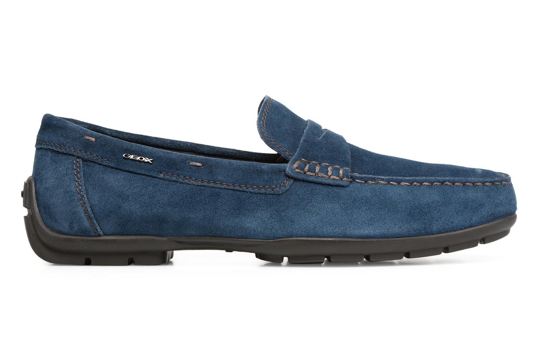 Loafers Geox U Moner W 2FIT C U44T1C Blue back view