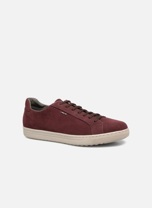 Trainers Geox Uomo Rikin U64W1F Burgundy detailed view/ Pair view