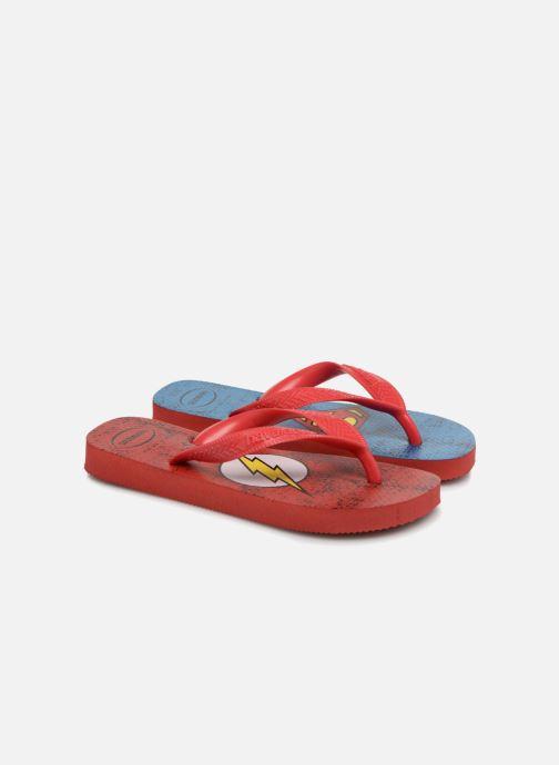 Flip flops & klipklapper Havaianas Kids Heros DC Blå detaljeret billede af skoene