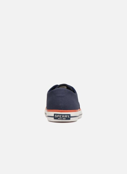 Baskets Sperry Re-Engineered CVO Nautical Bleu vue droite