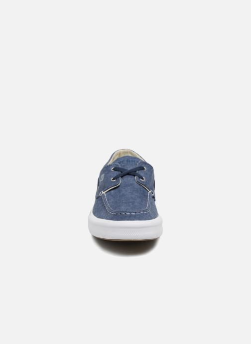 Baskets Sperry Bahama II Boat Washed Bleu vue portées chaussures