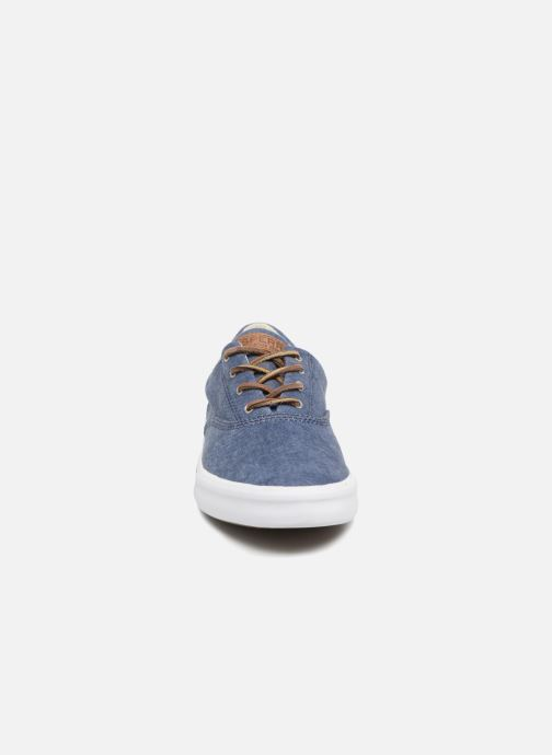 Baskets Sperry Striper II CVO Washed Bleu vue portées chaussures
