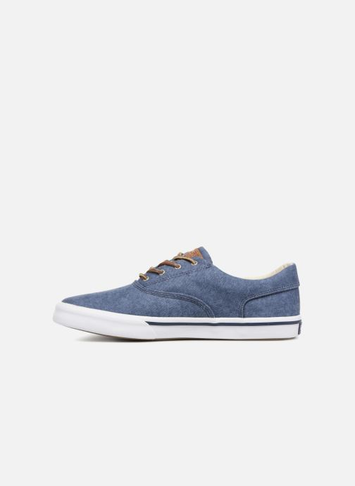 Trainers Sperry Striper II CVO Washed Blue front view
