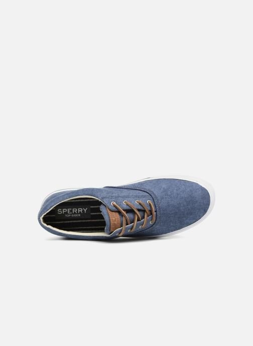 Trainers Sperry Striper II CVO Washed Blue view from the left