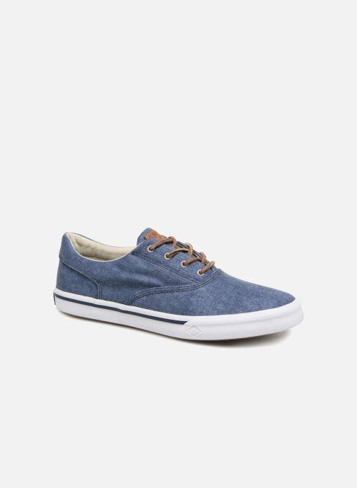Trainers Sperry Striper II CVO Washed Blue detailed view/ Pair view
