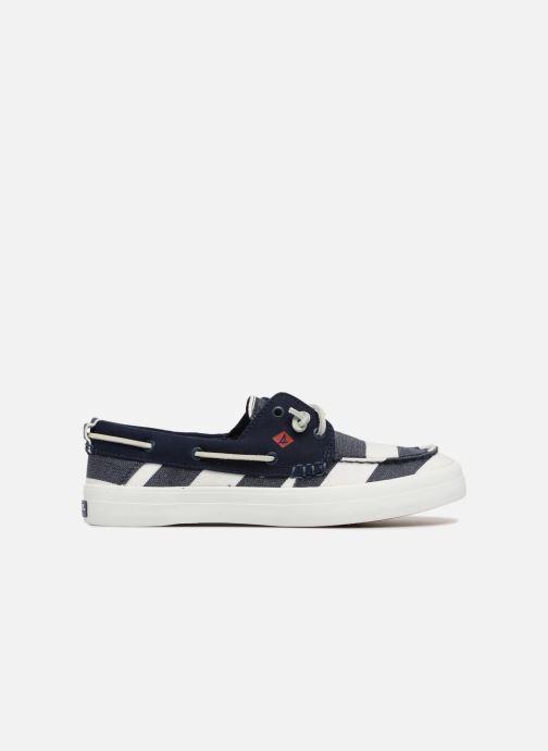 Chaussures à lacets Sperry Crest Resort Breton Stripe Bleu vue derrière