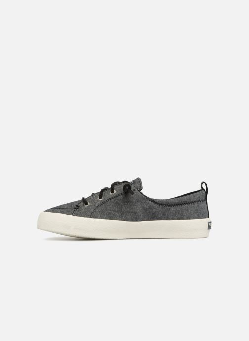 Baskets Sperry Crest Vibe Crepe Chambray Gris vue face