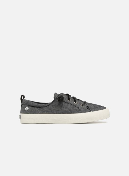 Baskets Sperry Crest Vibe Crepe Chambray Gris vue derrière