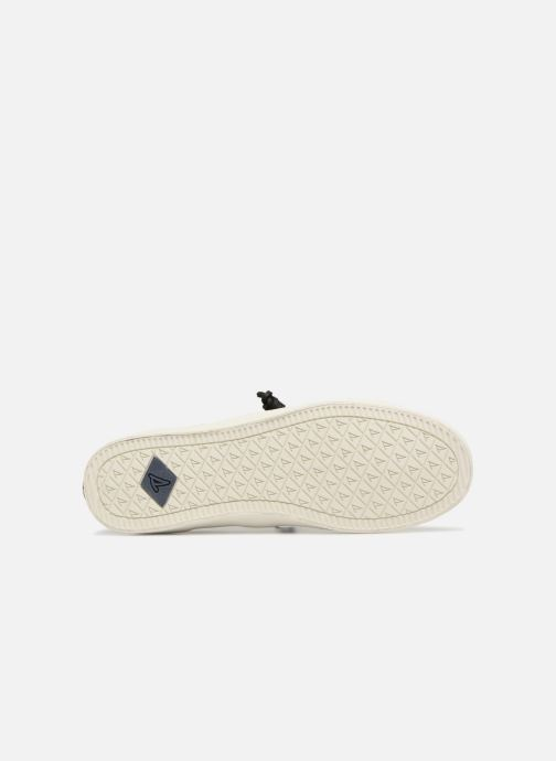 Baskets Sperry Crest Vibe Crepe Chambray Gris vue haut